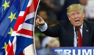 Trump calls Brexit
