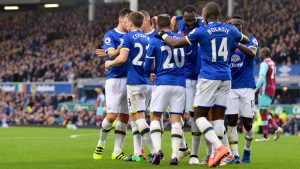 Everton - a team on the up