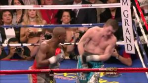 Mayweather's last legitmate KO - against Hatton