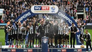 Newcastle - Winners of the Championship