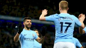 Man City are now the bookies favourites to win the Champions League