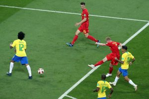 De Bruyne scores against Brazil