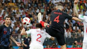 Perisic's equalising goal against England